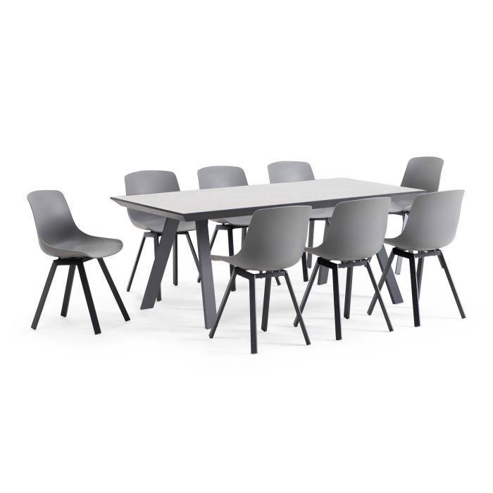 jardin personnes 8 plateau ensemble céramque scandinave1 de jardin de céramique8 chaises Salon table kiOuTwXZP