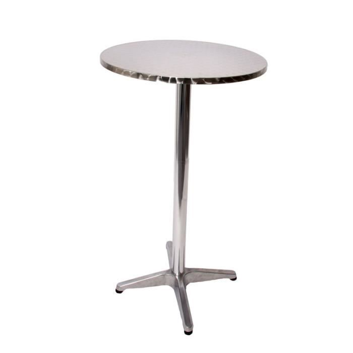 Table de bar avec couverture gris sombre l112 achat for Achat table bar