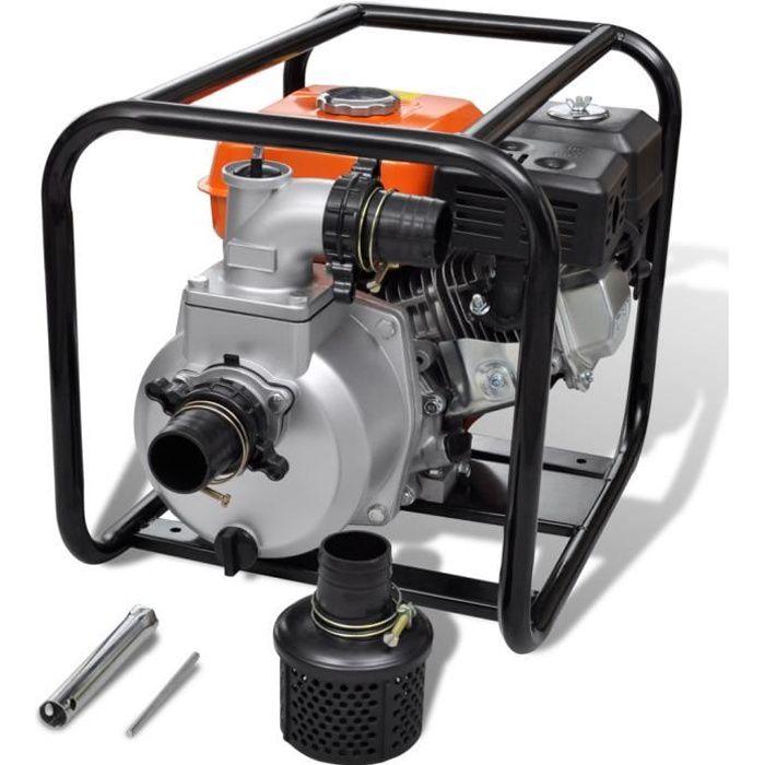 """6.5CV 2/"""" 50mm LIFAN motopompe à essence pour eaux sales 36m³//h 26m 4.8kW"""