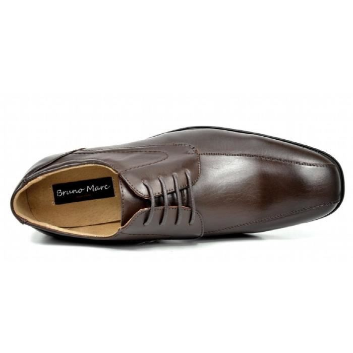 Bruno Marc Dp formel moderne classique lacées en cuir doublé Oxford Robe Chaussures Y5MOD Taille-41 YwLf01bf