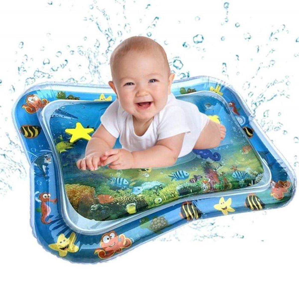 Tapis De Motricité Pas Cher tapis de jeu gonflé pour bébé - tapis de jeu gonflable rempli d'eau et  gonflable pour bébé