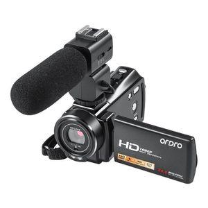 APPAREIL PHOTO RÉFLEX Caméscope vidéo ORDRO V7 Plus HD 1080P avec zoom n