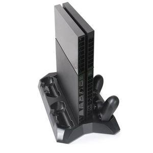 VENTILATEUR CONSOLE Ventilateur de refroidissement PS4 + support de ch