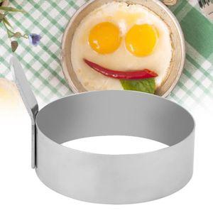MOULE  Moule à œufs au plat en forme de moule à crêpes œu