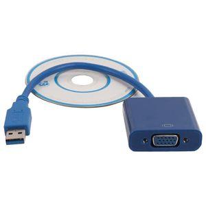 NAPPE INTÉGRATION  USB 3.0 vers VGA Vidéo Carte graphique externe Câb