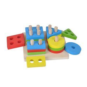 TABLE JOUET D'ACTIVITÉ Bébé Cerveau Développement Jouets Montessori Match