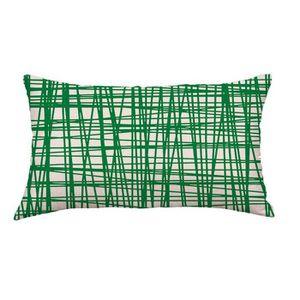 HOUSSE DE COUSSIN Géométrique Lignes Canapé-lit Décoration Coussin F