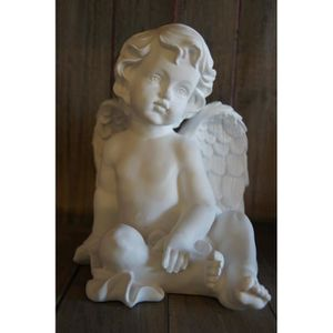 statuettes anges blanc achat vente statuettes anges blanc pas cher cdiscount. Black Bedroom Furniture Sets. Home Design Ideas