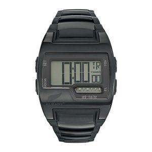 MONTRE Montre digitale tonneau All Blacks, noir, bracelet