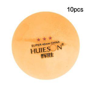 BALLE TENNIS DE TABLE 10pcs balles de tennis de table 3 étoiles 40 mm ba