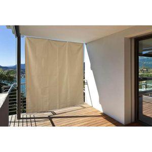 CLÔTURE - GRILLAGE Brise vue Vertical pour Balcon avec Œillets + Cord
