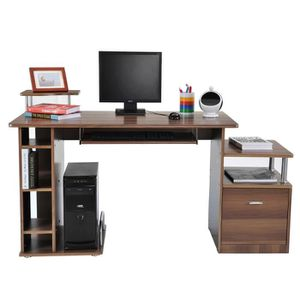 bureau meuble d 39 ordinateur achat vente bureau meuble d 39 ordinateur pas cher cdiscount. Black Bedroom Furniture Sets. Home Design Ideas