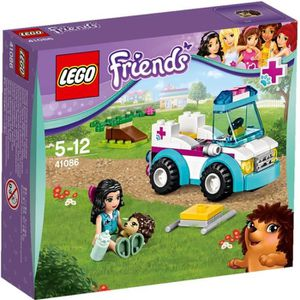 ASSEMBLAGE CONSTRUCTION LEGO Friends 41086 L'Ambulance Vétérinaire