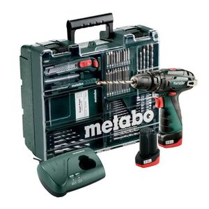 PACK DE MACHINES OUTIL METABO Perceuse-visseuse à percussion + 2 batterie