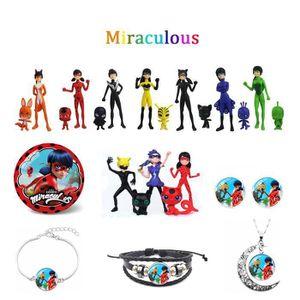 POUPÉE Miraculous - Pack 20 poupées et Bijoux- Ladybug et