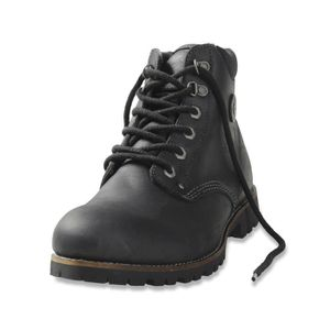 BOTTINE DIESEL bottines homme en cuir UTAH noir