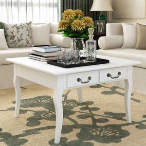 TABLE BASSE Table basse de salon scandinave80 x 80 x 50 cm  St