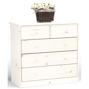 maison r commode pin blanc