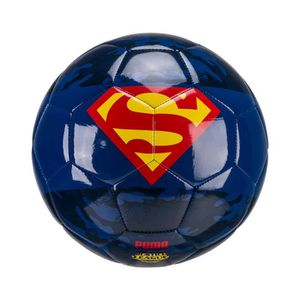 BALLON DE FOOTBALL Ballon Puma Superhero Superman T.5 Bleu
