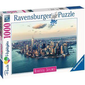 PUZZLE RAVENSBURGER - Puzzle 1000 pièces New York (Puzzle