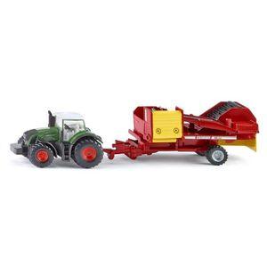 VOITURE - CAMION Modèle réduit en métal : Tracteur avec récolteuse