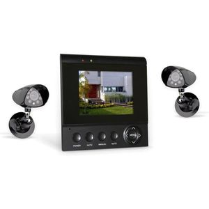 camera de surveillance sans fil exterieur avec ecran achat vente camera de surveillance sans. Black Bedroom Furniture Sets. Home Design Ideas