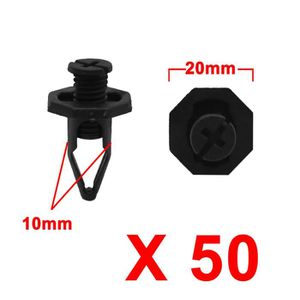 11 mm Longueur poste diamètre 10 mm Snap Rivet Nylon 6.6 8 mm diamètre de montage P