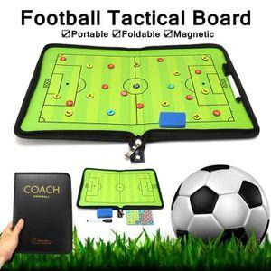 TABLEAU DE COACHING Portable Football Tactique Tableau + Stylo + Effac