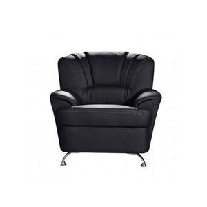 en fauteuil simili Achat Vente Noir FOCUS Fauteuil ZOPkXTui