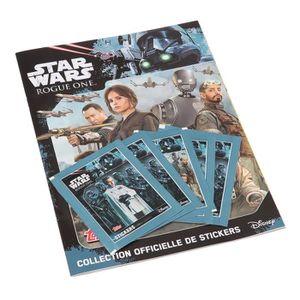 JEU DE STICKERS Album de 25 autocollants Star wars Rogue one - Mix