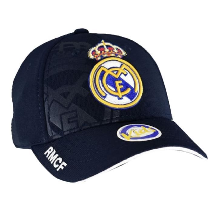 Casquette Real madrid Club Ronaldo CR7 enfant junior logo brodé Article sous licence officielle