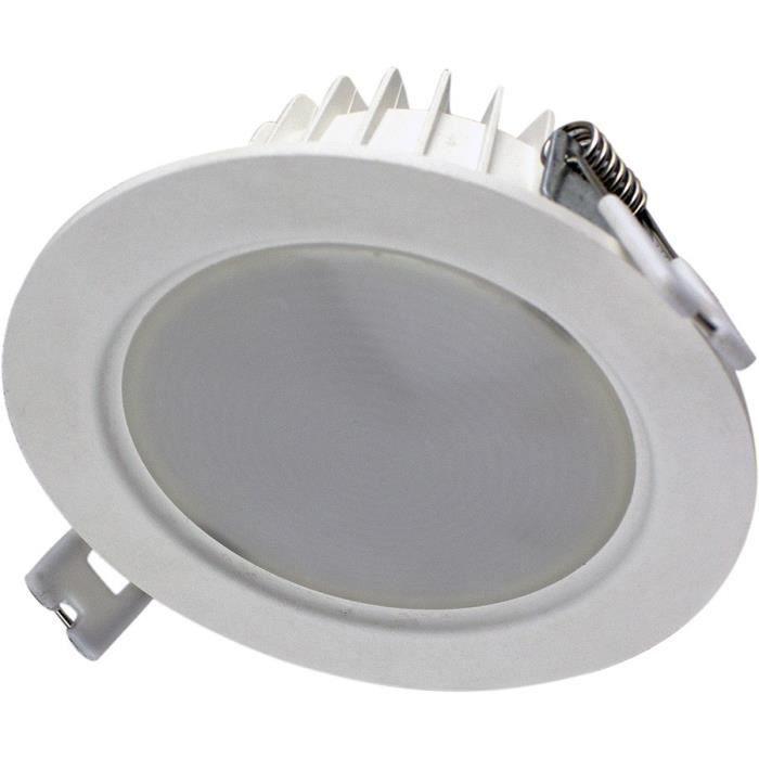 Spot Encastrable Plafond BBC 6W 470 lumens (Blanc neutre 4000K)