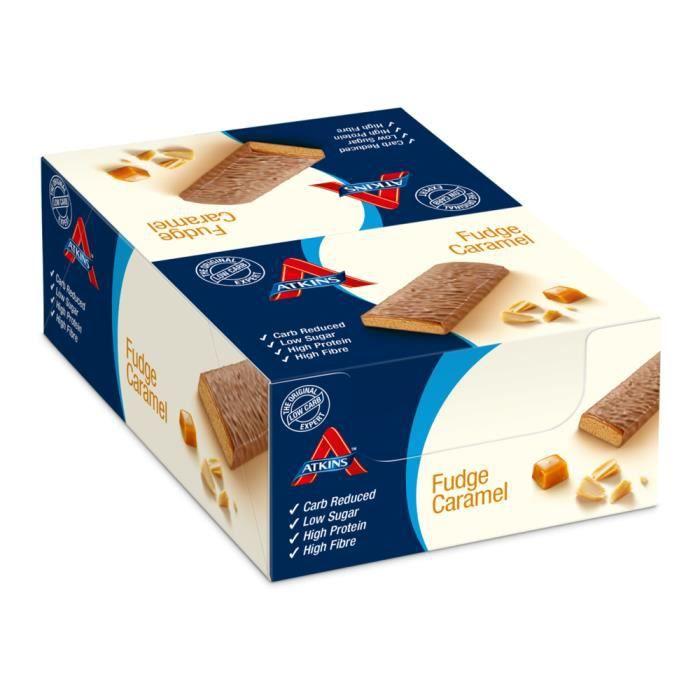 16 x Advantage Bar 60 g (Chocolat - Cacahuètes - Caramel)