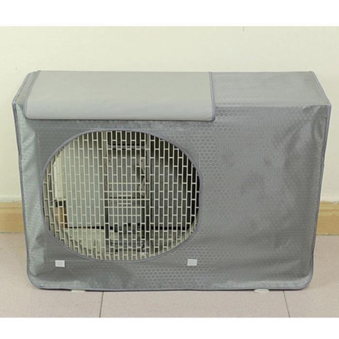 couvercle de climatiseur de fenêtre unité extérieure couvercle de protection imperméable # 11