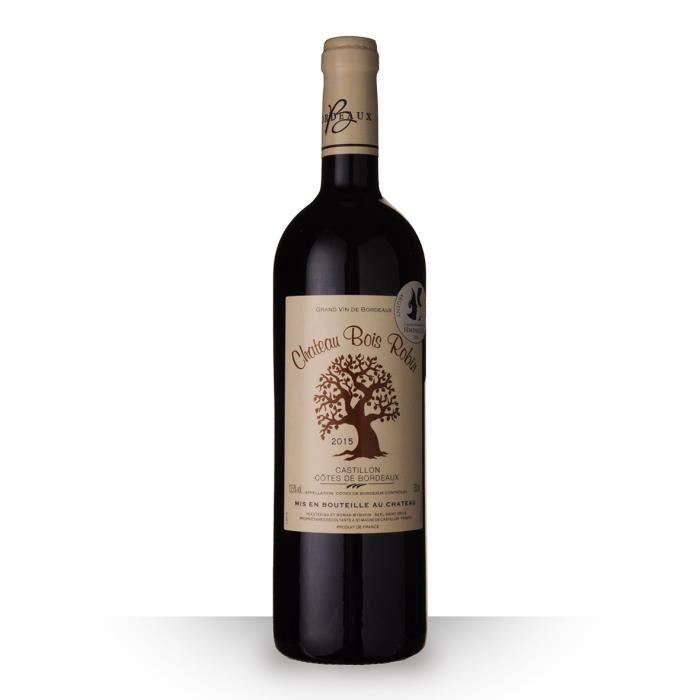 Château Bois Robin 2015 AOC Côtes de Bordeaux Castillon - 75cl - Vin Rouge