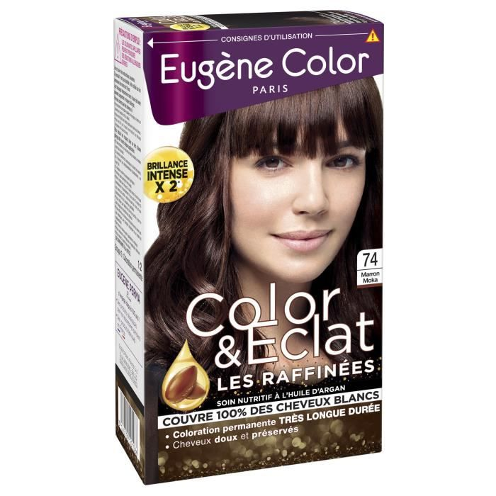 EUGENE COLOR Coloration raffinnée N74 - Moka