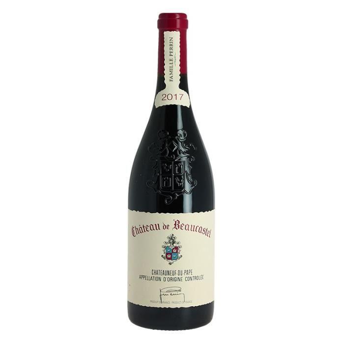 Château de Beaucastel 2017 Châteauneuf du Pape Vin Rouge par la famille Perrin