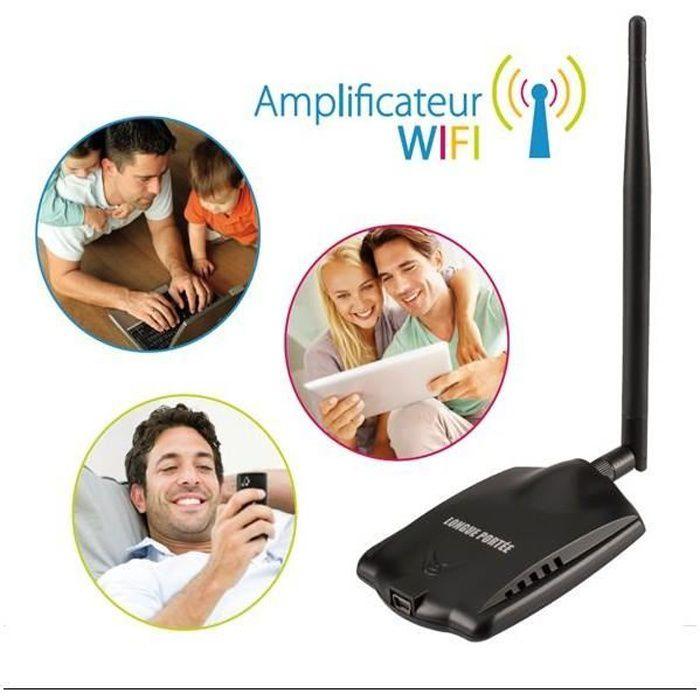 Amplificateur reseau Wifi sans fil longue portee