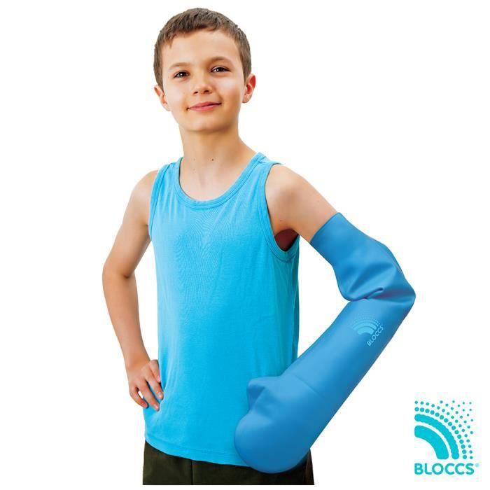 Bloccs – Protège-plâtre pour enfant 100% étanche - Bras entier (L)