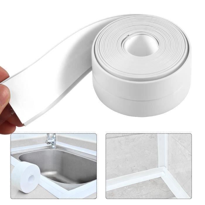 10M x 22mm Bande d/' étanchéité autocollant pr baignoire lavabo évier mur bord