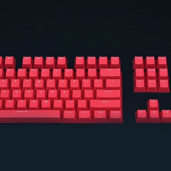rouge Clavier 104 touches Pbt, protège clavier Pour clavier cherry Kailh Gateron Outemu