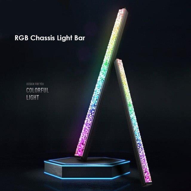 Lentille de diamant ARGB barre de lumière LED ordinateur de bureau coque d'ordinateur lumière décorative*PD1632