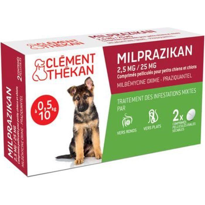 Milprazikan Chiot boite de 2 compriéms