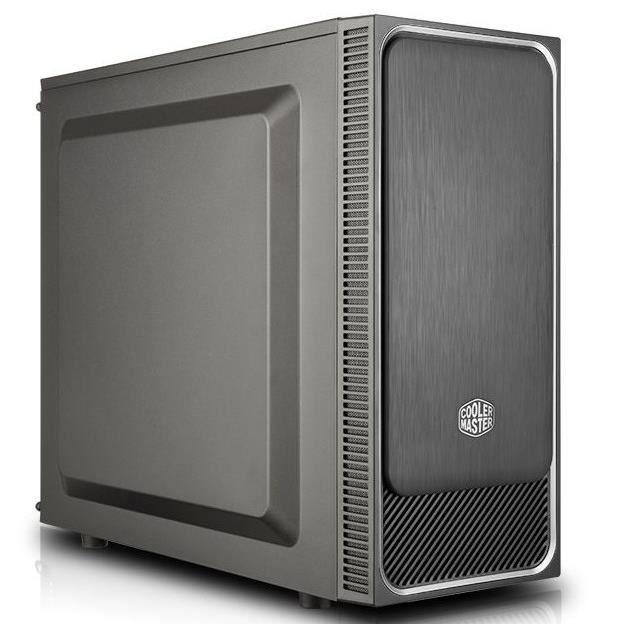 COOLER MASTER Boîtier PC MasterBox E500L - Argent - ATX (MCB-E500L-KN5N-S02)