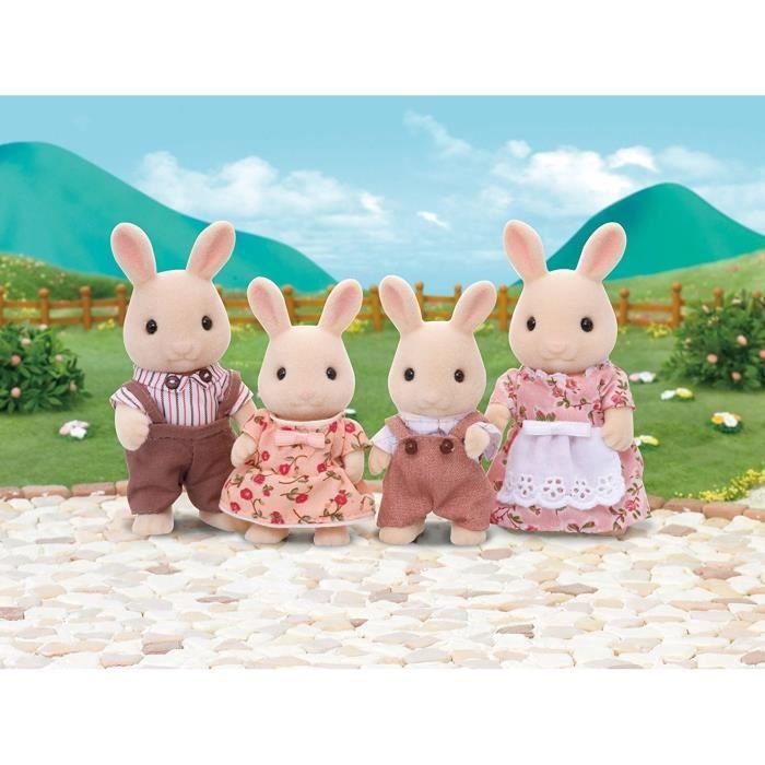 SYLVANIAN FAMILIES - 4108 - La famille lapin crème - Les familles