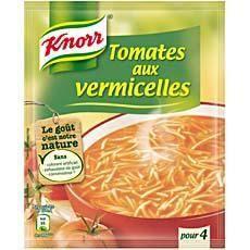Knorr Soupe de tomates aux vermicelles 4 assiettes