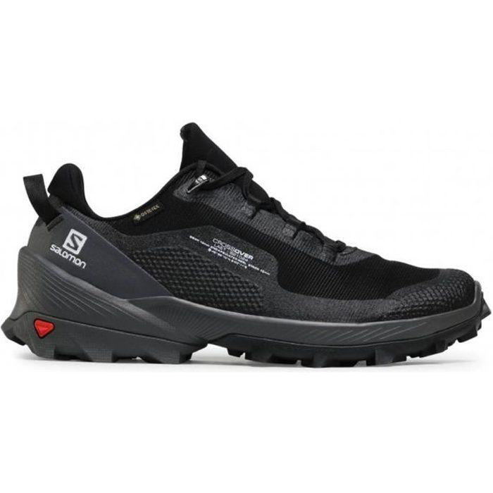 Salomon Cross Over Gore-Tex 412861 - Chaussures de Randonnée pour Homme Noir