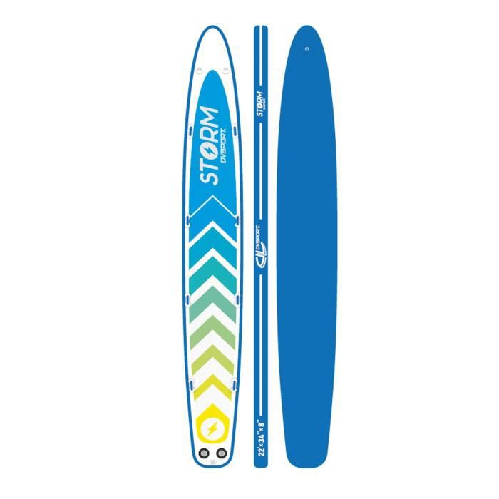 DVSPORT Stand Up Paddle Gonflable 21'9 Storm