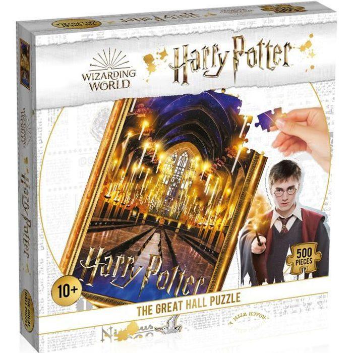 HARRY POTTER Puzzle La Grande Salle 500 pièces