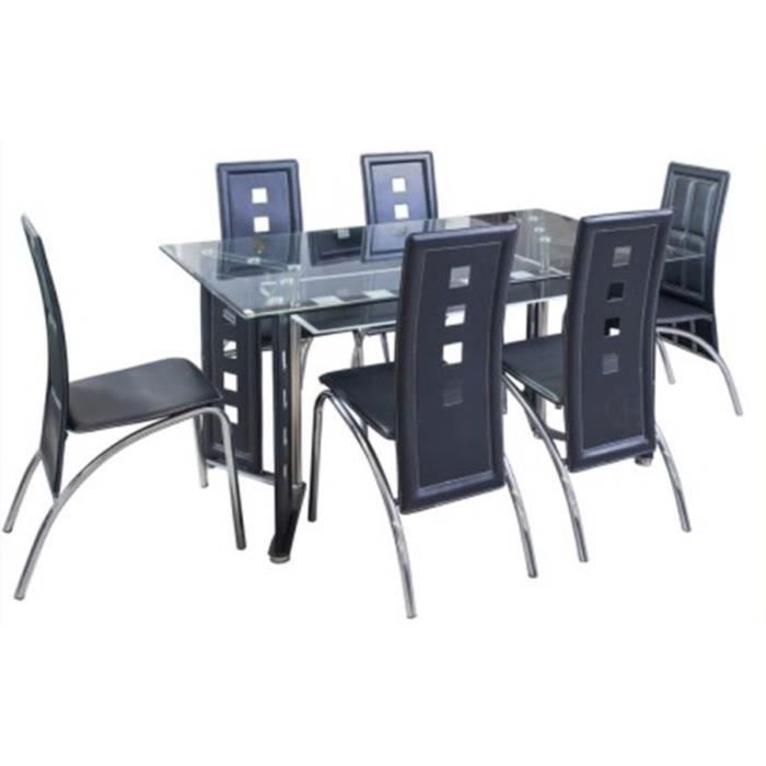 table et chaises ct31 achat vente table a manger complet table et chaises ct31 cdiscount. Black Bedroom Furniture Sets. Home Design Ideas